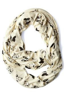 Woof There It Is Scarf | Mod Retro Vintage Scarves | ModCloth.com