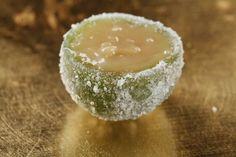 Casquinha de limão cristalizada. Aprenda a fazer essa receita divina!