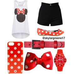 Minnie Mouse Outfit for Madi's birthday!