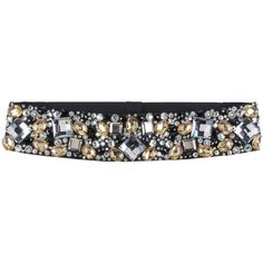 Alberta Ferretti Belt ($165) ❤ liked on Polyvore featuring accessories, belts, black and alberta ferretti