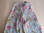 Butter Fly Fleece Fabric PJs insulin pump pj built in pockets
