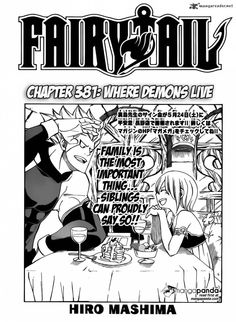 Fairy Tail Chapter 381 - Where Demons Live