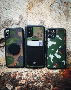 Our new collection is made of real Finnish Army Fabrics. It's designed for hikers and adventures. See more from our site: L A S T U. Samsung Cases, Iphone Cases, Army Camo, Army Life, Camouflage, Fabrics, Collection, Instagram, Design