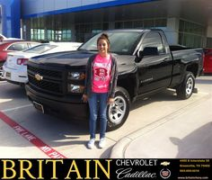 https://flic.kr/p/AQGVjR | Happy Anniversary to David on your #Chevrolet #Silverado 1500 from Duane Stailey at Britain Chevrolet Cadillac! | deliverymaxx.com/DealerReviews.aspx?DealerCode=I827