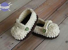 RAKJpatterns; Creative Crochet Patterns | Free Crochet Pattern: Ashley Loafers