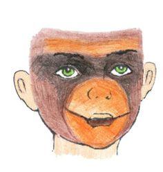 schminken aap