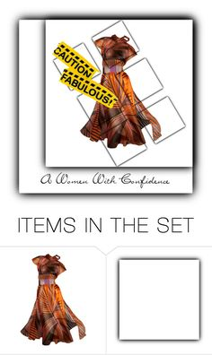 """Caution Fabulous"" by for-the-art-of-fashion ❤ liked on Polyvore featuring art"