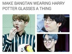 There's something about glasses that make idols look more wonderful. Not saying that they're ugly before the glasses came along. But that the glasses accentuates their manly features