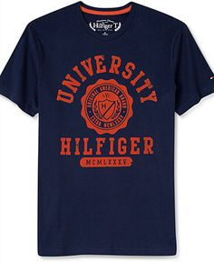 Tommy Hilfiger T-Shirt, New Griggs Graphic Short Sleeve T-Shirt - T-Shirts - Men - Macy's