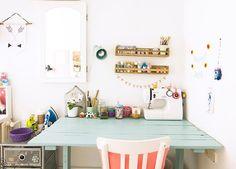 Creatividad en estado puro... ¡Podría vivir en esta preciosa habitación!