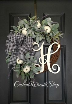 Your place to buy and sell all things handmade Fall Wreath Autumn WreathDoor Wreath Rustic Wreath. Autumn Wreaths, Christmas Wreaths, Christmas Decorations, Merry Christmas, Christmas Ornaments, Rustic Wreaths, Christmas Quotes, Christmas Music, Front Door Decor