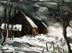 'La Maladrerie sous la neige', Maurice De Vlaminck