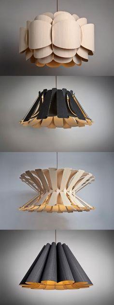Chapas de madera y otros tipos   Diseño de objetos decorativos y espacios interiores.