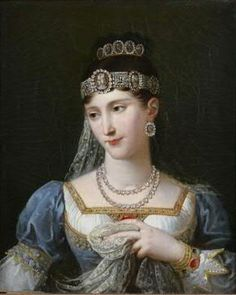 1807 Marie Pauline Bonaparte by Robert Lefèvre (auctioned) | Grand Ladies | gogm