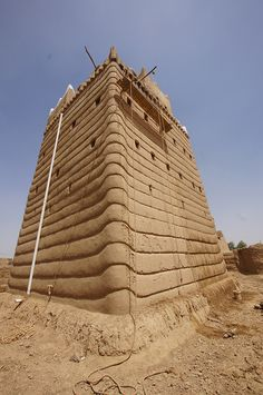 saudi arabia najran fortress    Najran's most outstanding monument, Najran Fort, has all the signature characteristics of the Asir region: mud-brick fortications, fairy-tale turrets, crenellations with whitewash flourishes and small windows suggesting more than they reveal.