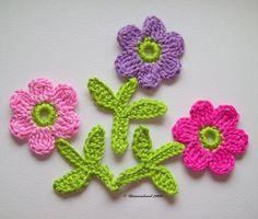 soranyi crochet: Flores a crochet
