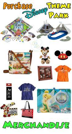 Where To Purchase Disney Theme Park Merchandise Besides Disney World.