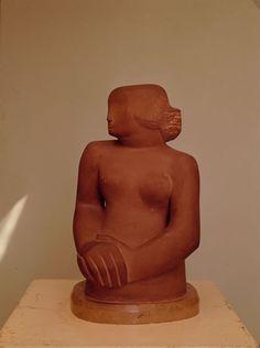 Figure of a Woman, Sculpture Barbara Hepworth Sculptor , Artist Study for CAPI ::: Create Art Portfolio Ideas @ milliande.com, Art School Portfolio Work