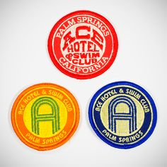 Ace Swim Club Patches // shop.acehotel.com