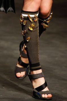 Prada S/S 2014. Love the Jewels.