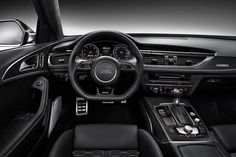 The New Audi RS6 Avant. That is one cockpit I don't mind staring at while stuck in the middle of midday traffic.