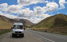 Campervan on the South Island, New Zealand