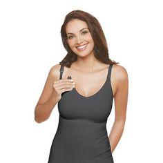 Slimming Nursing Cami fits like a sports bra and flattens tummy.