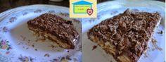 Casa com amor e arte: Pavê de chocolate com biscoito de maisena