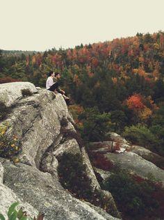 Shawangunk Ridge #rocks #forest