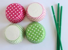 Cupcake Liner Flower Tutorial