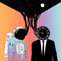 Spacetime| #ATouchOfArt @SorayaElBasha