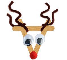 Tête de renne de Noël