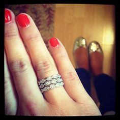 Deco Stackable Rings by Stella & Dot  http://www.stelladot.com/denikaclay