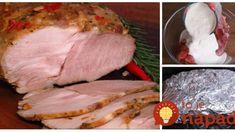 Tajomstvo najlepšej krkovičky pečenej v celku – recept od šéfa: Stačí dať na pekáč s horčicovou zmesou a chuť neskutočná! Pork, Turkey, Beef, Kale Stir Fry, Meat, Turkey Country, Pork Chops, Steak