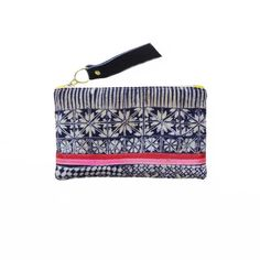 Domino // GAIA pouches are made from vintage + repurposed fabric by resettled refugee women living in Dallas // www.gaiaforwomen.com