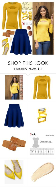 """Get Happy: Pops of Yellow"" by simlu-clothing ❤ liked on Polyvore featuring Boden, PopsOfYellow and NYFWYellow"