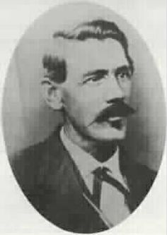 John S. Chisum, from a photo taken around the time of the Lincoln County War