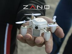 ZANO, A Palm-Size Nano Drone With Built-In HD Video Capture