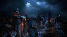 Dark-medieval-city-fantasy - Google Search