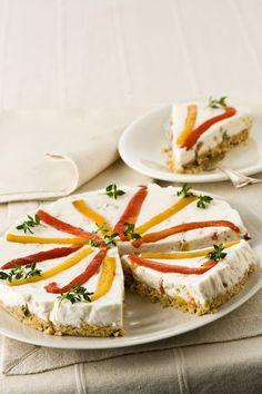 Cheesecake ai peperoni