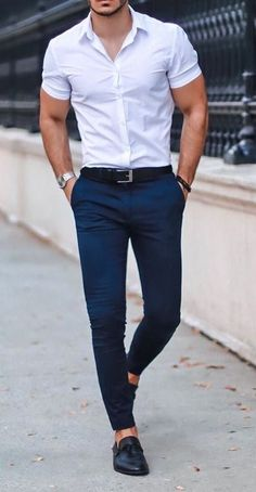 Mens Dress Outfits, Formal Men Outfit, Stylish Mens Outfits, Casual Fall Outfits, Mode Outfits, Men Dress, Business Casual Men, Men Casual, Denim Jacket Men