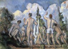 Paul Cézanne,Bathers,© RMN-Grand Palais (Musée d'Orsay) / Hervé Lewandowski