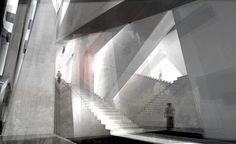 Sur(real) Stair: Rising to Religious Unity byRyan F. Schicker, Wentworth Institute of Technology.