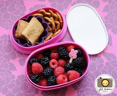 bento box snacks and lunches. This precious woman has done it all!!! :)  183 by kirstenreese, via Flickr