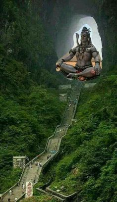 Beautiful Picture Of The Day From Heaven's Gate in China Lord Shiva, Travel Photographie, Heaven's Gate, Devian Art, Shiva Wallpaper, Shiva Shakti, God Pictures, Heaven Pictures, In China