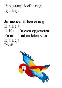 Dutch Language, Rhymes For Kids, Kids Songs, Kids Learning, Childhood Memories, Childrens Books, To My Daughter, Poems, History