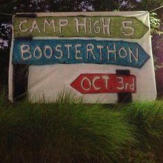 Camp high five fun run boosterthon #madebylayla @Layla Quilichini