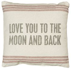 Rustic To The Moon Accent Throw Pillow