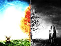 Las unidades del bien y el mal o la vida y la muerte son ejemplos de dualidad. Ambas se definen por sus oposiciones y hacen referencia a dos distintas ideas.