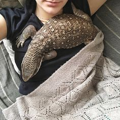 Savannah monitors are one of the larger pet lizards, perhaps making them even better friends. | 23 Pictures That Prove Lizards Are Very Good Boys